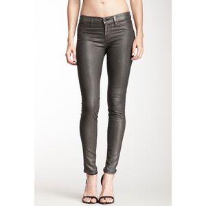 J Brand Super Skinny Low-Rise Jeans
